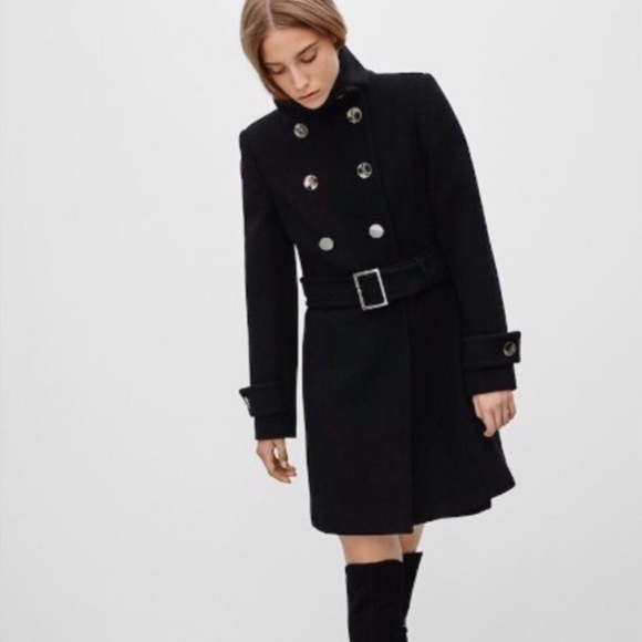 Aritzia Babton Bromley Wool Coat